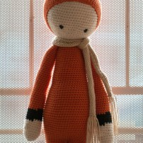 crochet amigurumi fibi the fox lalylala