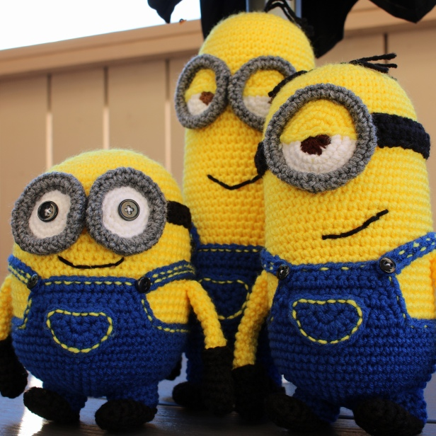 Something by Vera handmade crafts and crochet Minion Bob Kevin Stuart gift kids children baby shower