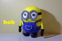 Something by Vera handmade crafts and crochet Despicable me Minion Minions Bob gift kids children baby shower