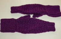 Something by Vera handmade crafts and crochet mommy hold my hand mitten mittens gift kids children baby shower