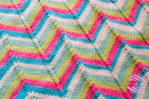 chevron blanket2