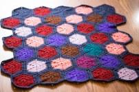 hexagon baby blanket1