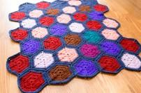 hexagon baby blanket3